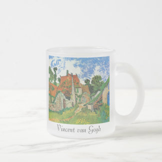 Village Street in Auvers Coffee Mugs