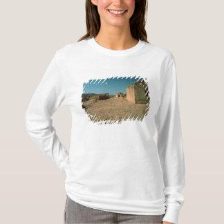 Village Street with Houses T-Shirt