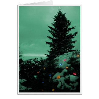 Village Tree on The Green Stationery Note Card