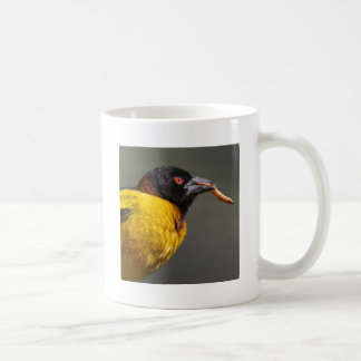 Village Weaver on branch Coffee Mug