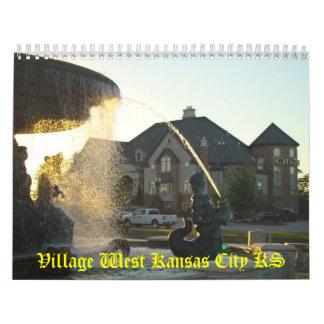 Village West Kansas City KS - 2008-09 Calendar