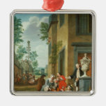 Villagers Merrymaking Ornament