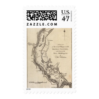 Villages in the Illinois Country Postage