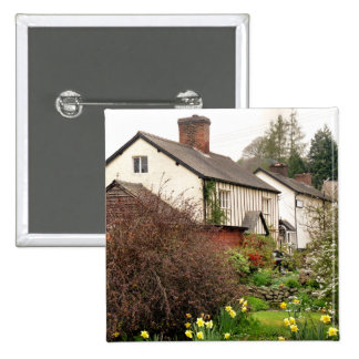 VILLAGES OF WALES PINBACK BUTTON