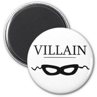 Villain 2 Inch Round Magnet