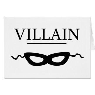 Villain Card