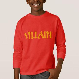 Villain (Gold Font) T-Shirt
