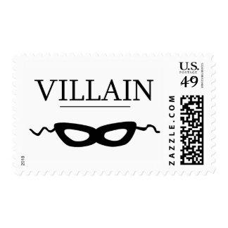 Villain Postage Stamps