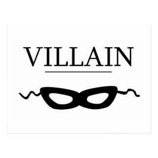 Villain Postcard