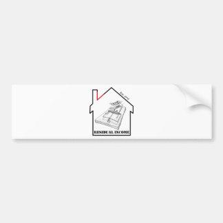 Villainy - Trap House Bumper Sticker