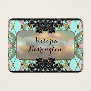 Villamore Pearl Professional Business Card at Zazzle