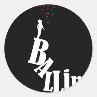 Villanía - el alcance del Baller Etiquetas Redondas