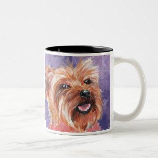 Villani's Zizi Two-Tone Coffee Mug