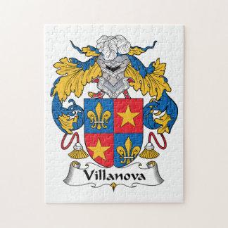 Villanova Family Crest Puzzle