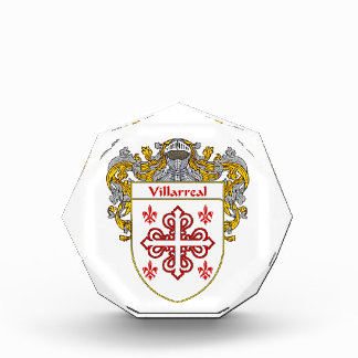 Villarreal Coat of Arms Family Crest Awards