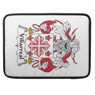 Villarreal Family Crest Sleeve For MacBook Pro