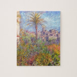 """Villas at Bordighera 03 by Claude Monet Jigsaw Puzzle<br><div class=""""desc"""">&#39;Impressionism&#39; beautiful images from legendary artists</div>"""