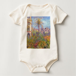 Villas at Bordighera 03 - Claude Monet Baby Bodysuit
