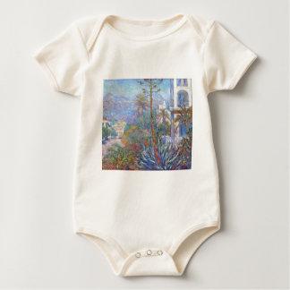 Villas at Bordighera by Claude Monet Baby Bodysuit