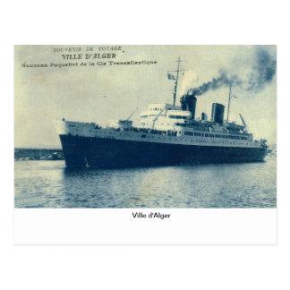 Ville d'Alger Postcard