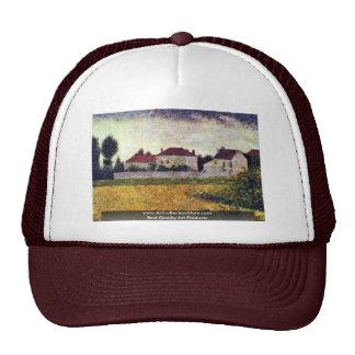 Ville D'Avray, las casas del blanco de Seurat Jort Gorra