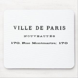 Ville De París Nouveautes Tapete De Raton