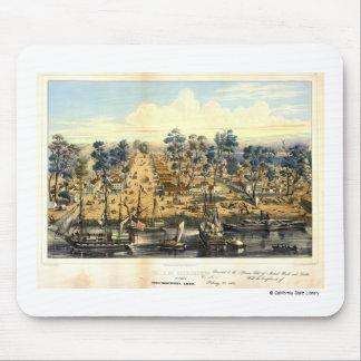 Ville de Sacramento, 1849.  Mouse Pad
