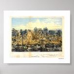 Ville de Sacramento, 1849. Poster