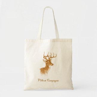 Ville et Campagne Shopper Tote Bag