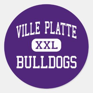 Ville Platte - Bulldogs - High - Ville Platte Stickers