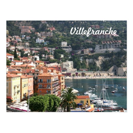 Villefranche, Provence Tarjeta Postal