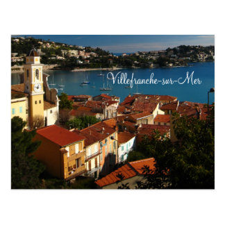 Villefranche-sur-Mer Postcard