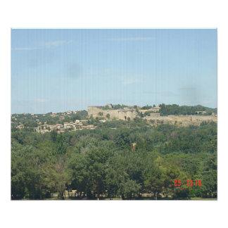 Villeneuve Avignon, seen of Avignon Photo Print