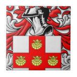 Villere Coat of Arms Tile