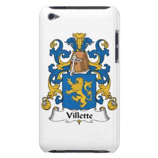 Villette Family Crest iPod Case-Mate Cases