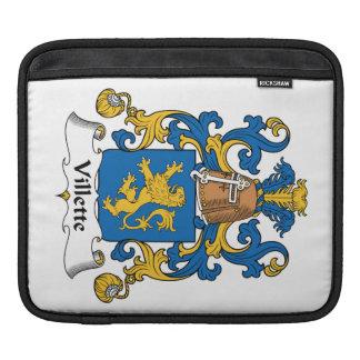 Villette Family Crest iPad Sleeve