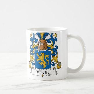 Villette Family Crest Mugs