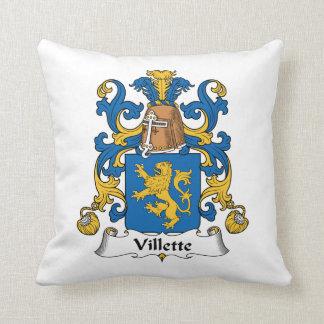 Villette Family Crest Pillow
