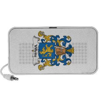 Villette Family Crest Portable Speakers