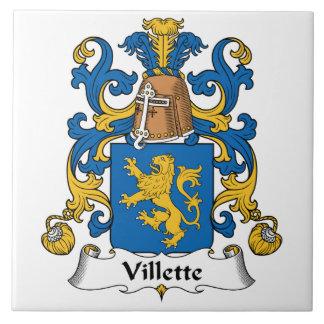 Villette Family Crest Ceramic Tiles