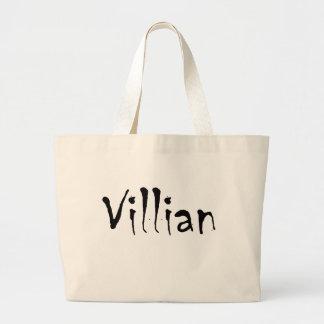 Villian Large Tote Bag