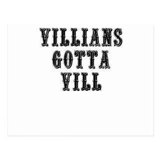 Villians consiguió a Vill Postal