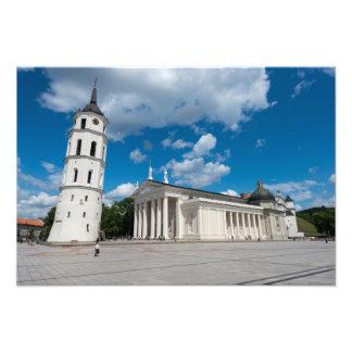 Vilnius Cathedral Photo Print