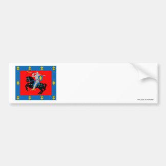 Vilnius County Flag Bumper Sticker