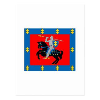 Vilnius County Flag Post Cards