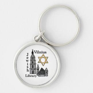 Vilnius Jewish Library cool keychain