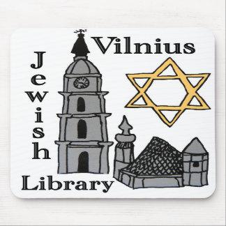 Vilnius Jewish Library mousepad