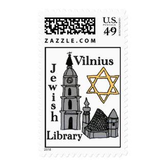 Vilnius Jewish Library stamp
