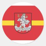 Vilnius, Lithuania Stickers