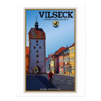 Vilseck - torre tarjeta postal